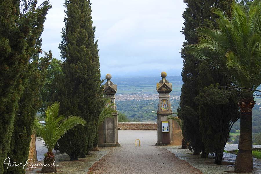 Aussicht von der Ermita de Bonany