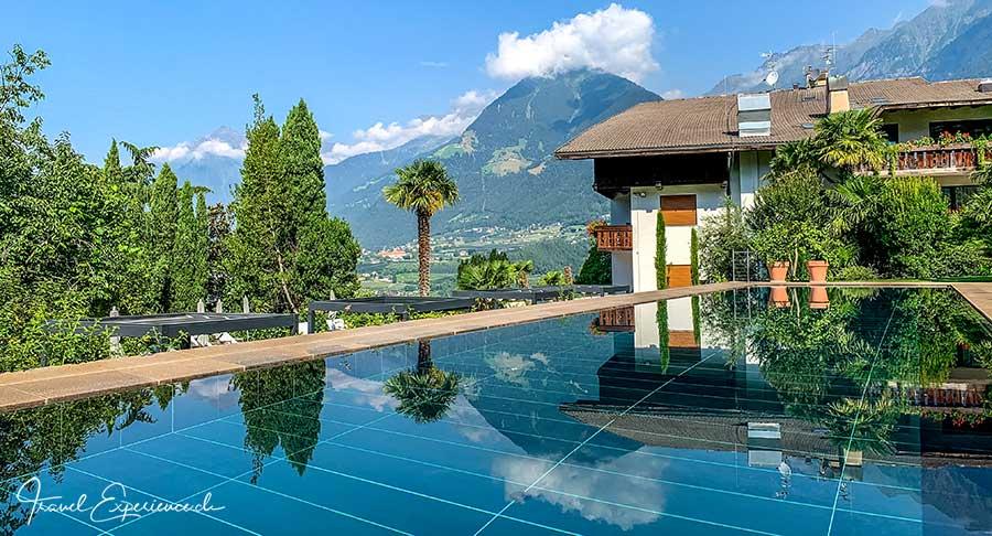 Hotel Hohenwart, Schenna, Pool, Stammhaus