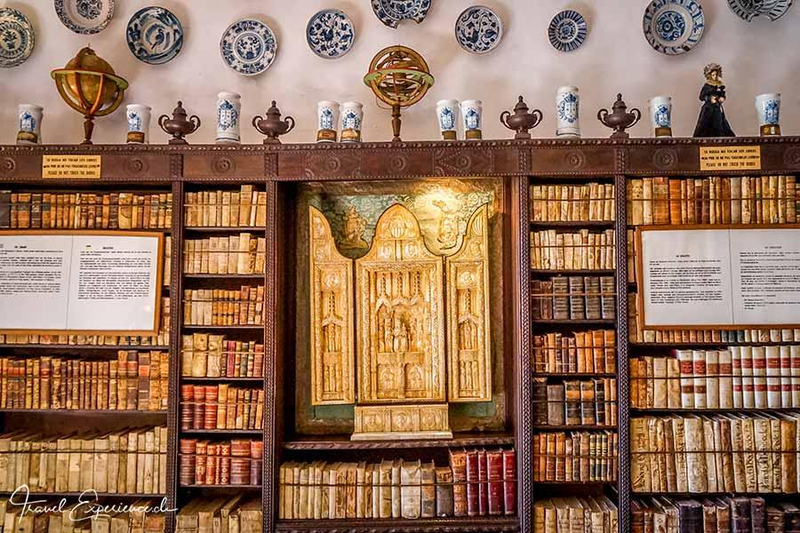 Bibliothek, Kartause, Valdemossa, Mallorca