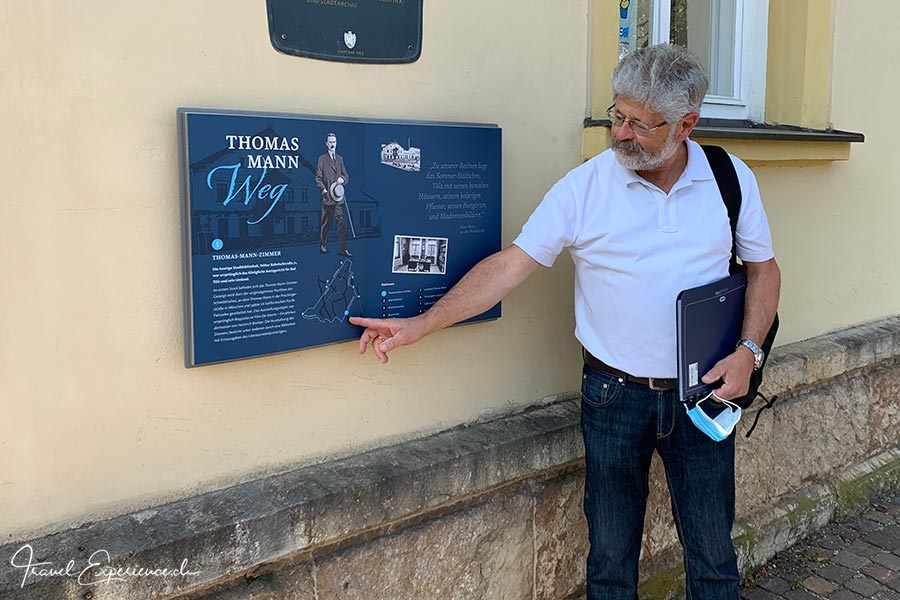 Martin Hake, Thomas-Mann-Weg
