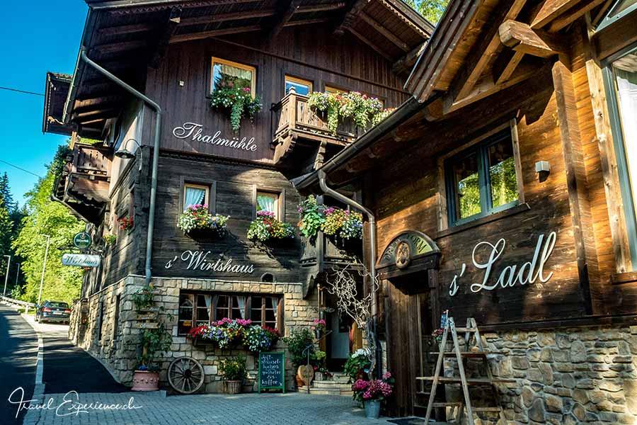 Restaurant Thalmühle, Oberau, Wildschönau