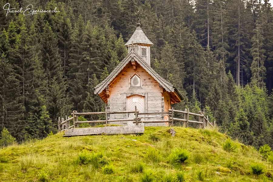 Schönangeralm, Wildschönau, Kapelle