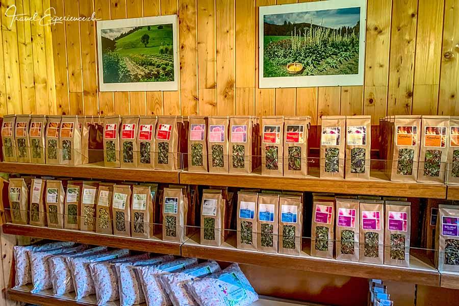 Haas Kräutergarten Shop Wildschönau