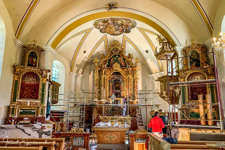 Thierbach, Dorfkirche, Renovation, Wildschönau