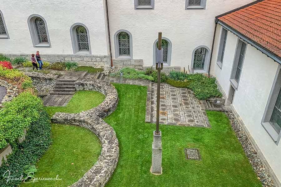 Kloster Disentis, Ausgrabungen