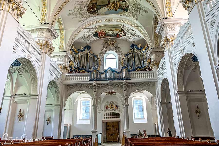 Kloster Disentis, Martinskirche, Grosse Orgel