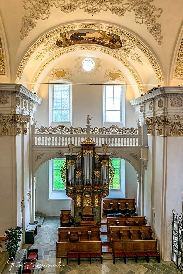 Kloster Disentis, Martinskirche, Chororgel