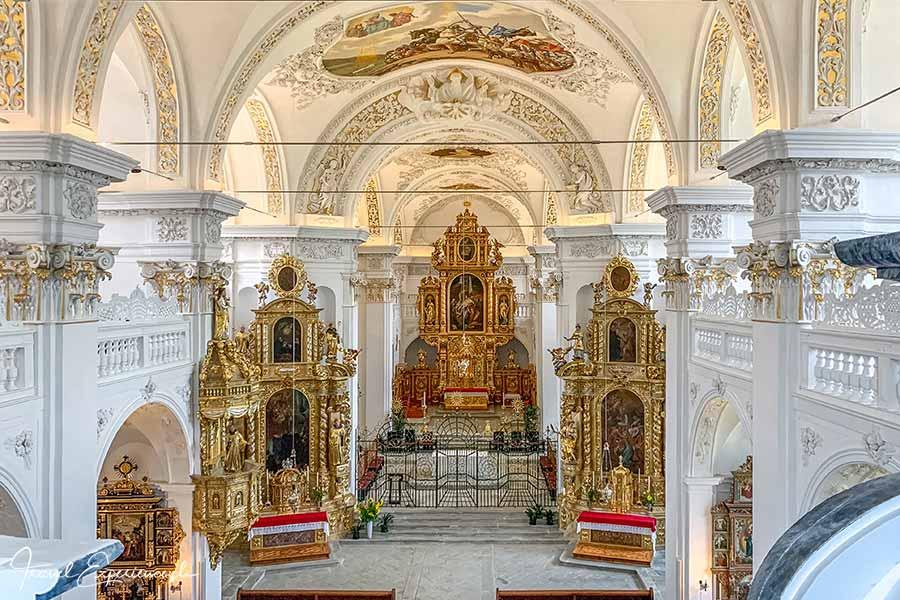Kloster Disentis, Martinskirche, Hauptschiff, Hauptaltar