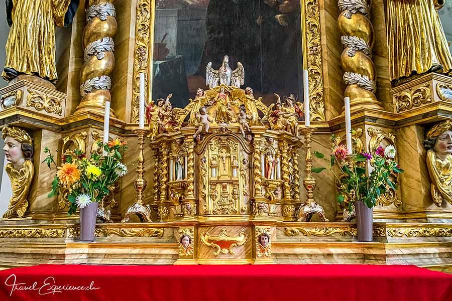 Kloster Disentis, Martinskirche, Benedict-Altar