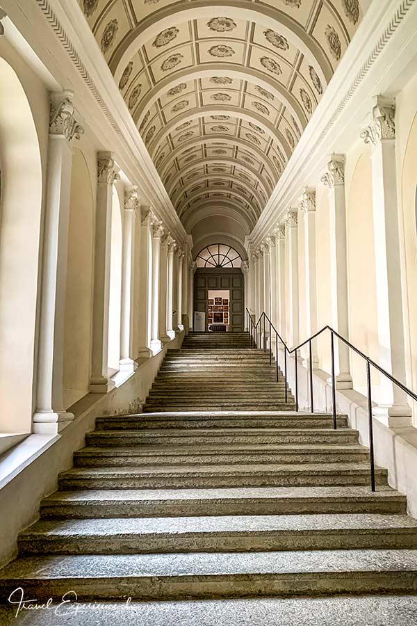 Kloster Disentis, Rosenkranztreppe