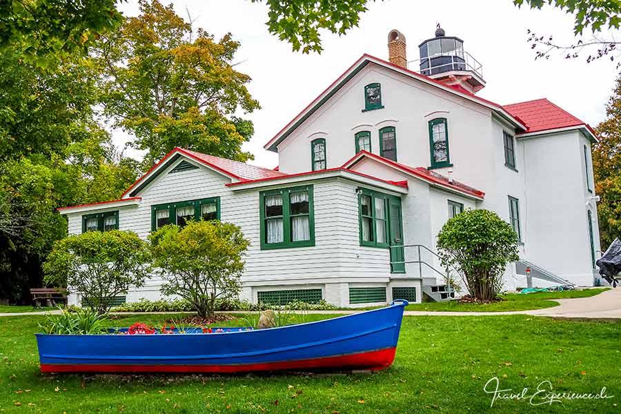 Michigan, Lower Peninsula, Grand Traverse Lighthouse