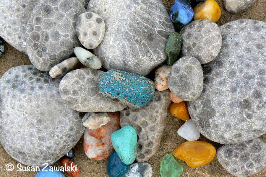 Michigan, Petoskey Stones