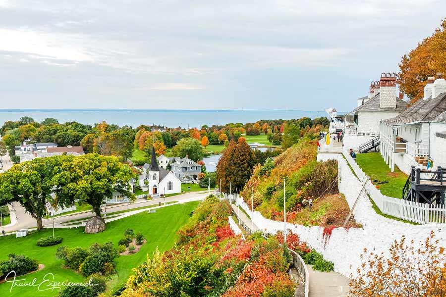 Michigan, Mackinac Island, Fort
