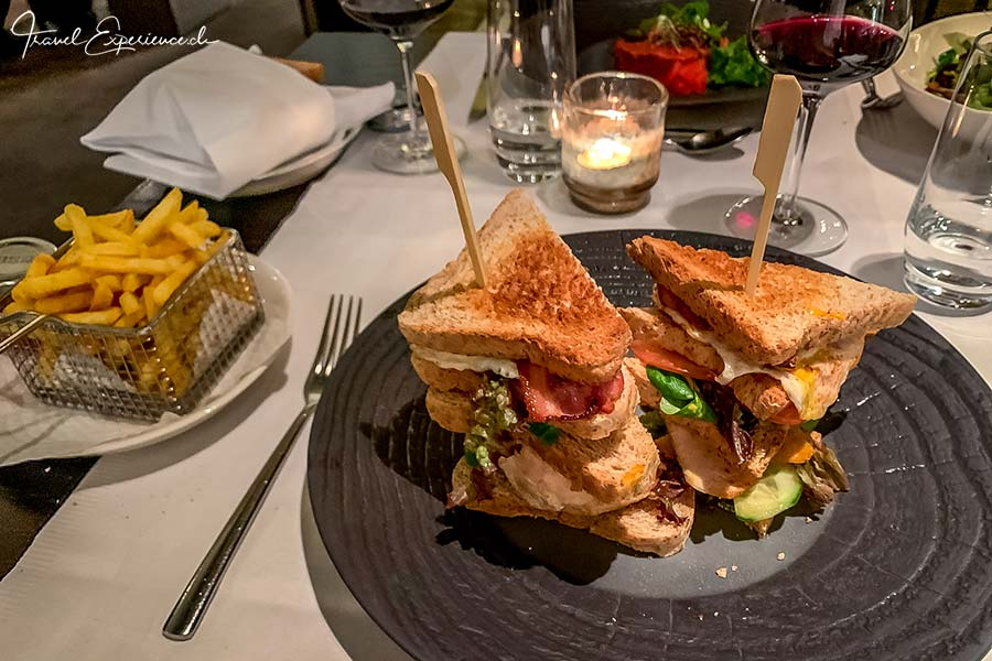 Wellnesshotel Golfpanorama, Lipperswil, Club Sandwich