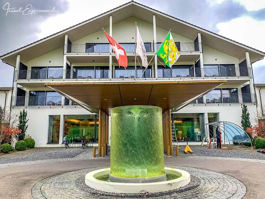 Wellnesshotel Golfpanorama, Lipperswil, Eingang