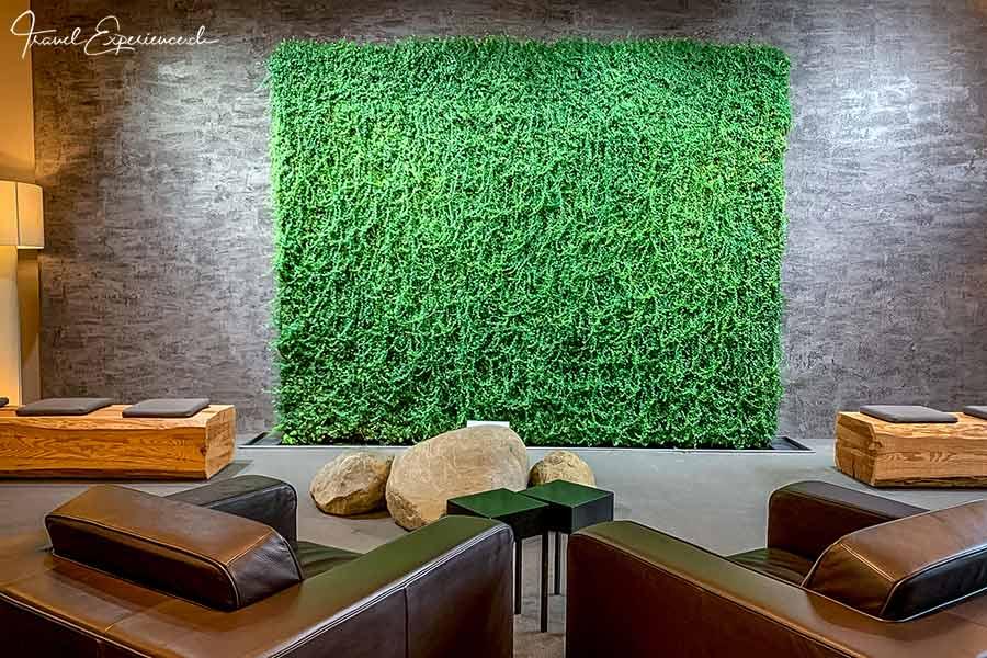Wellnesshotel Golfpanorama, Lipperswil, grüne Wand