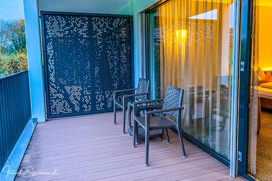 Wellnesshotel Golfpanorama, Lipperswil, Balkon