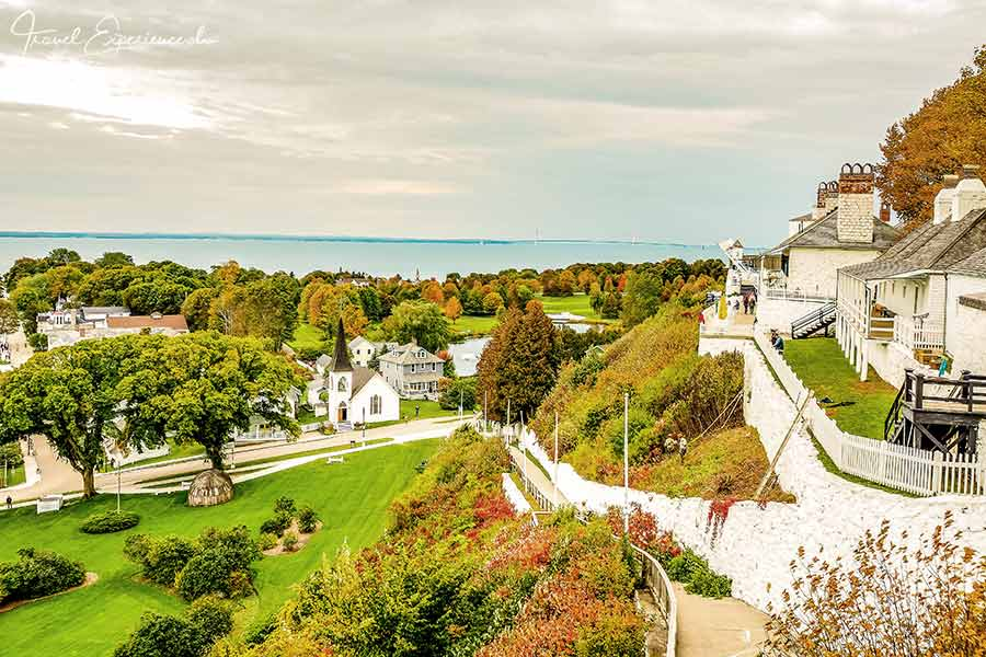 Michigan, Mackinac Island, Fort