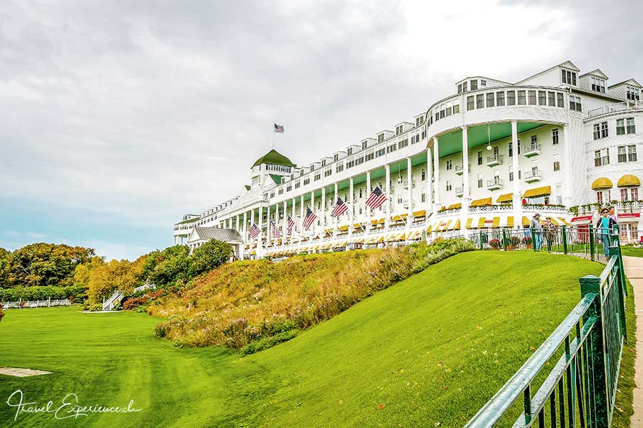 Michigan, Mackinac Island, Grand Hotel