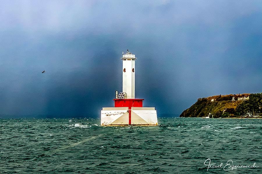 Michigan, Mackinac Island, Leuchtturm
