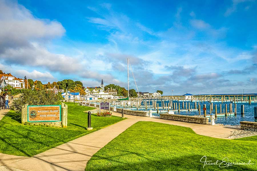 Michigan, Mackinac Island, Hafen