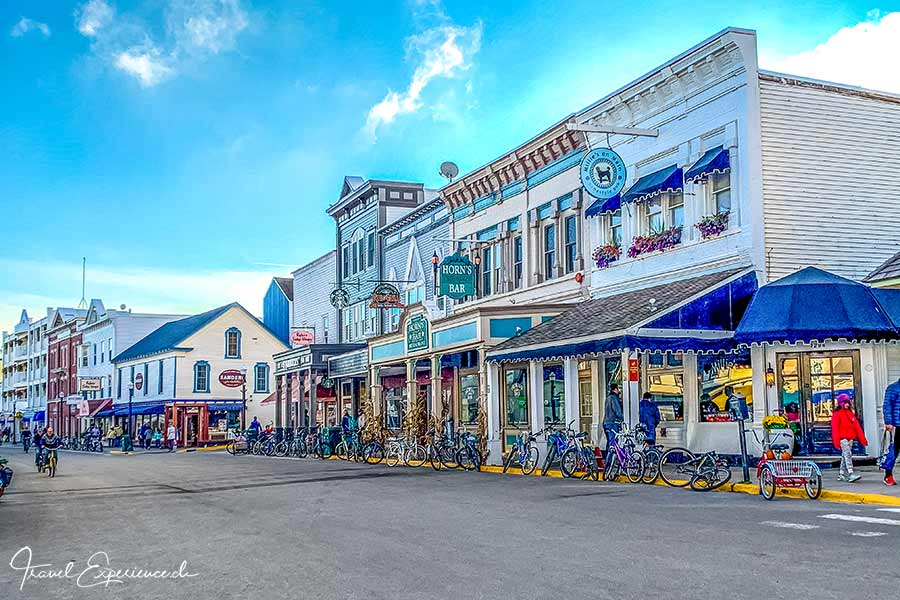 Michigan, Mackinac Island, Hauptstrasse
