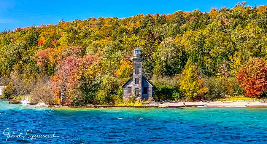 Michigan Upper Peninsula, Munising, East Channel Lighthouse