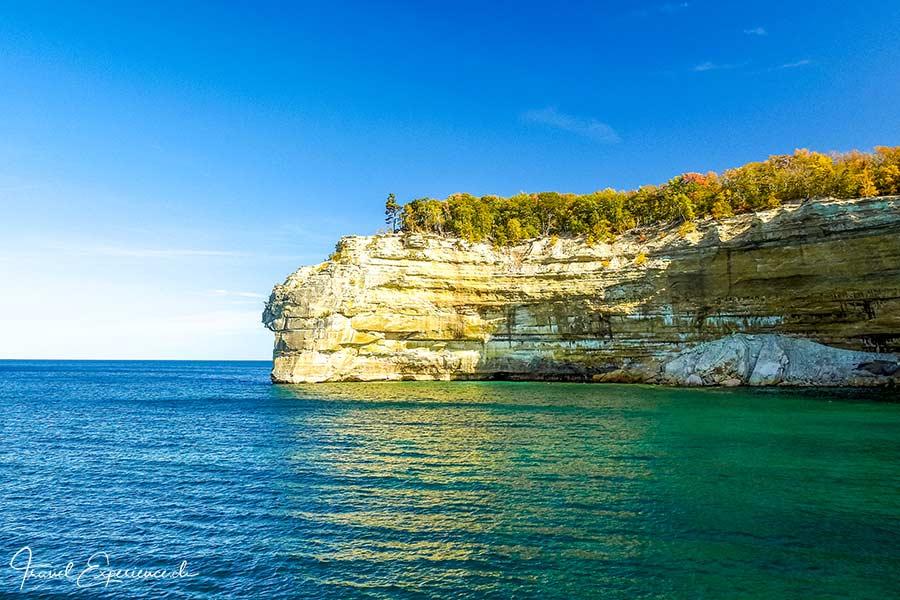Michigan Upper Peninsula, Pictured Rocks, Indian Head