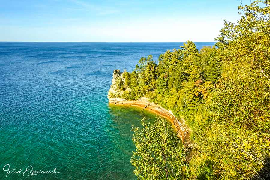 Michigan Upper Peninsula, Pictured Rocks, Miners Castle
