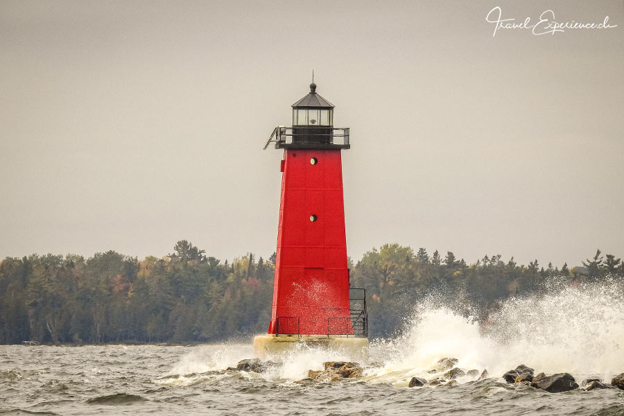 Michigan, Upper Peninsula, East Breakwater Lighthouse
