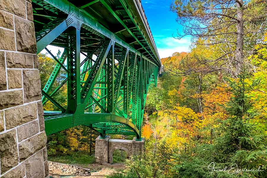 Michigan, Upper Peninsula, Cut River Bridge