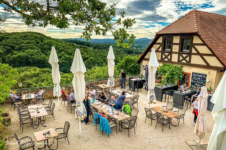 Nürnberger Land, Burg Hartenstein, Restaurant Touche