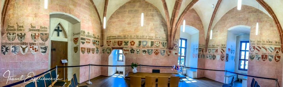Nürnberger Land, Lauf, Wenzelschloss, Wappensaal