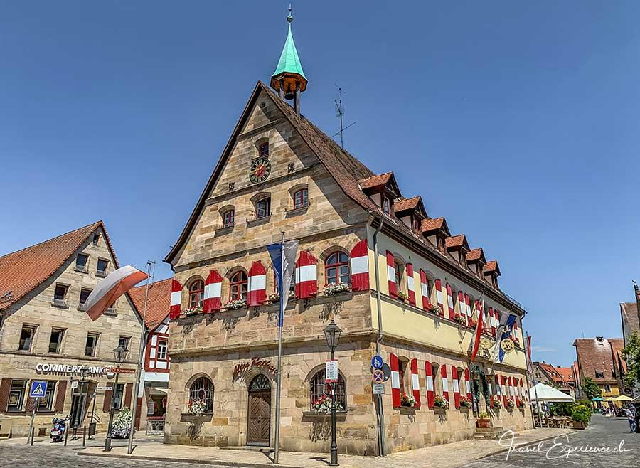 Nürnberger Land, Lauf, altes Rathaus