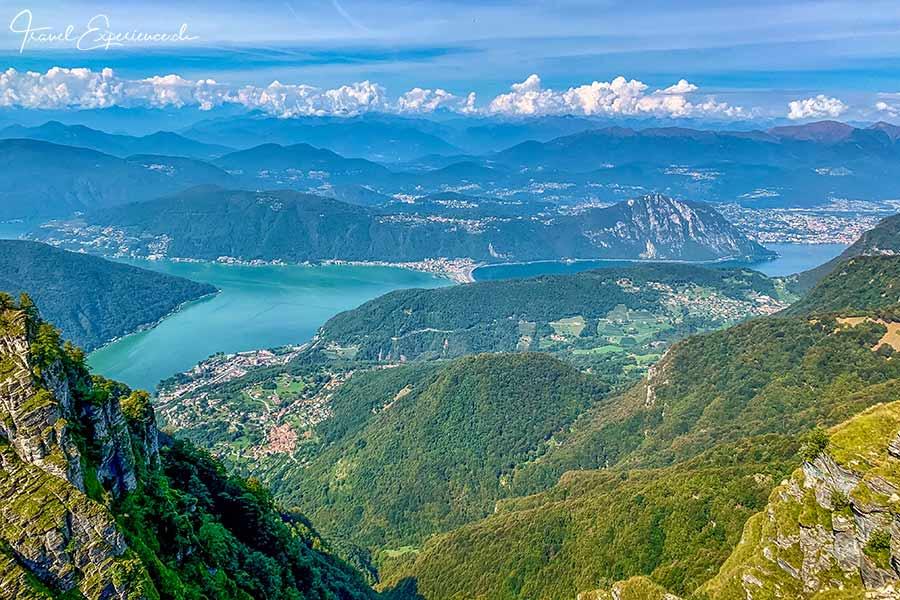 Monte Generoso, Ausssicht