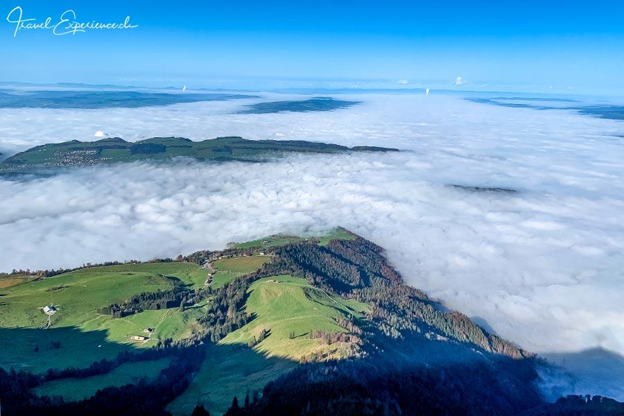 Rigi Kulm, Schweiz, Nebelmeer