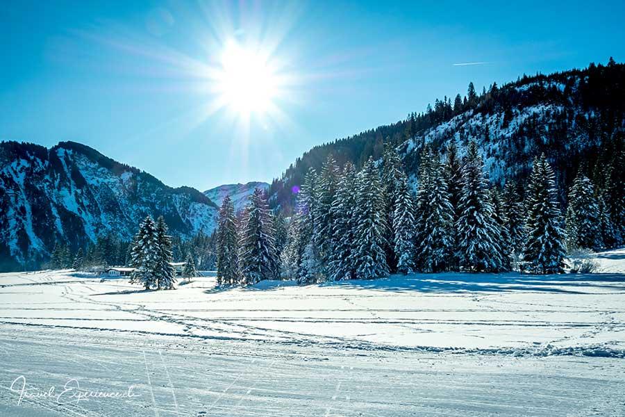 Tannheimer Tal, Winter