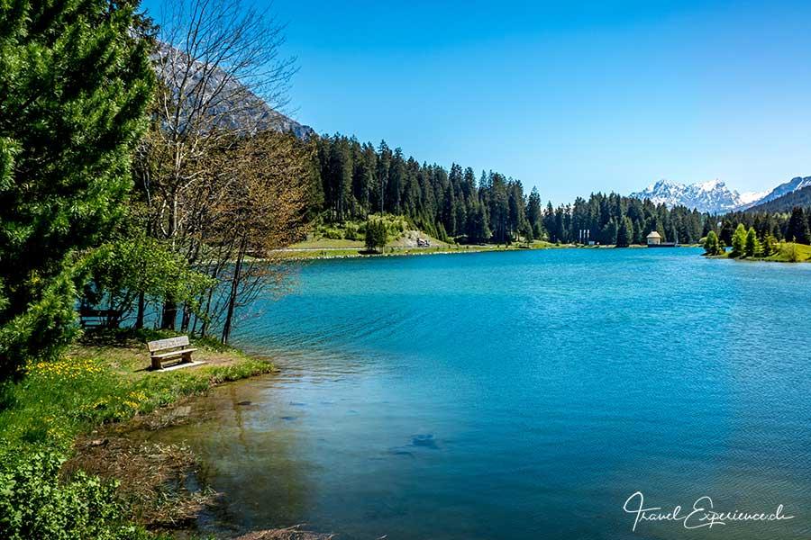 Heidsee, Lenzerheide, Schweiz