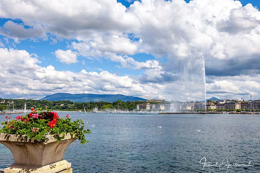 Genf, Jet dEau