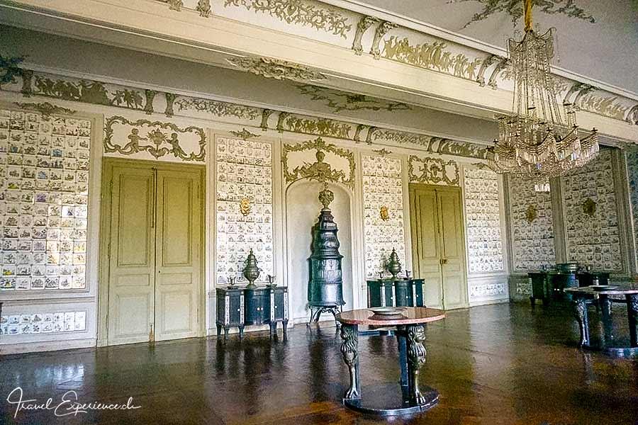 Ansbacher Residenz, Fliesensaal