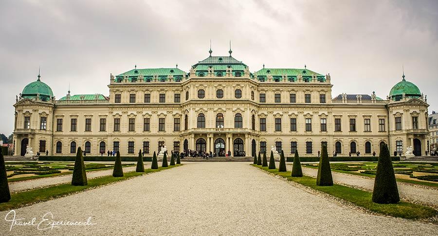 Oberes Belvedere, Museum, Schloss, Wien