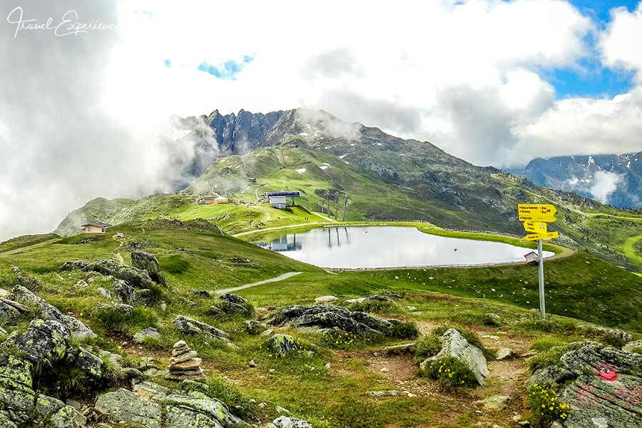 Tirol, Pitztal, Hochzeiger, Speichersee
