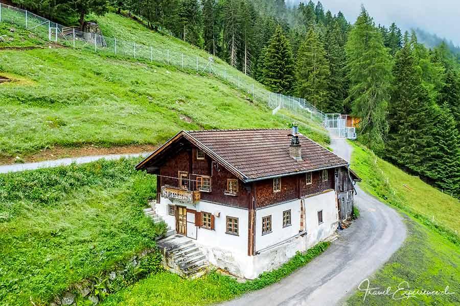 Tirol, Pitztal, Schrofenhof, Steinbockzentrum