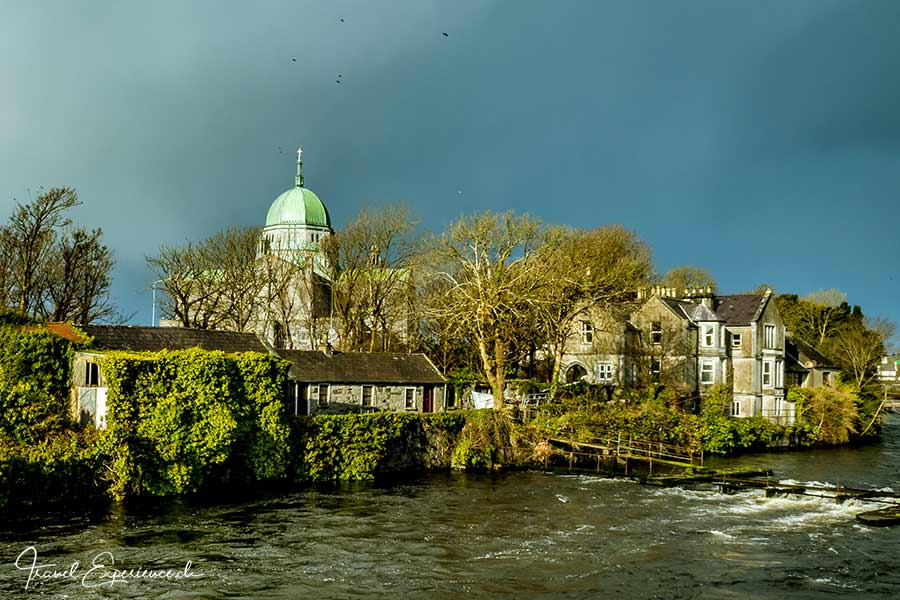 Galway, Fluss Corrib, Kathedrale