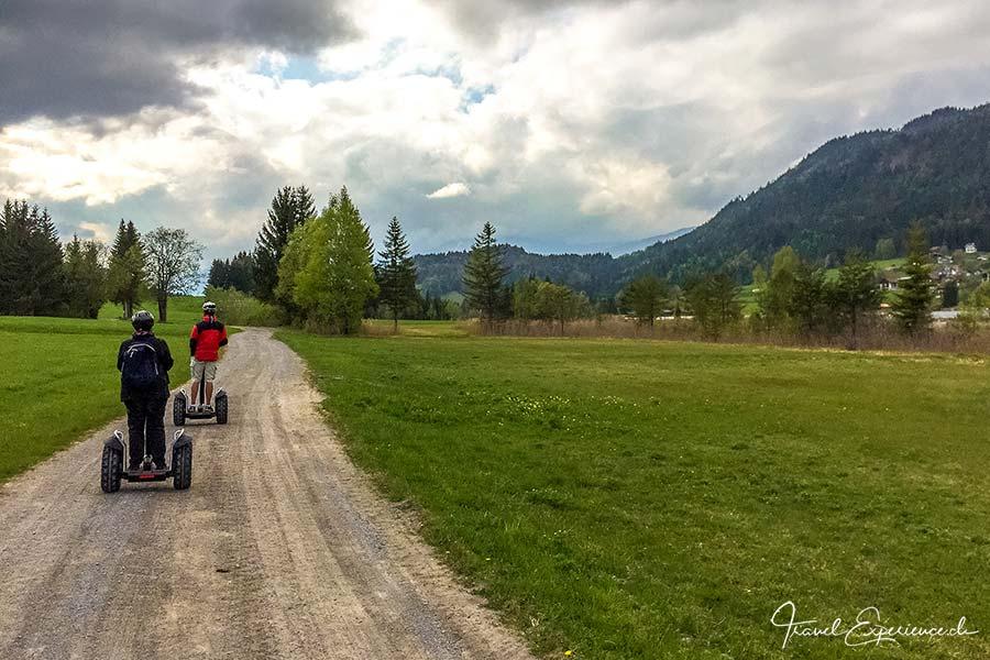 Segway-Tour, Weissensee, Kärnten