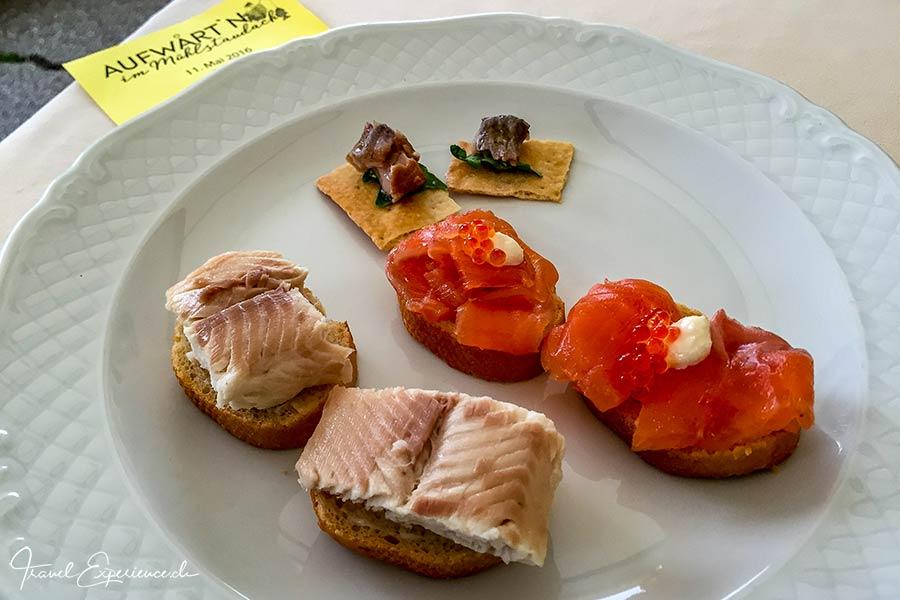 Fischspezialitäten, Aufwartn, Weissensee, Kärnten