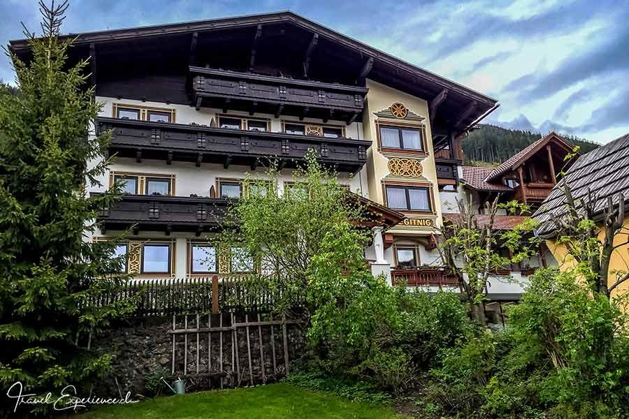 Hotel Regitnig, Weissensee, Kärnten, aussen