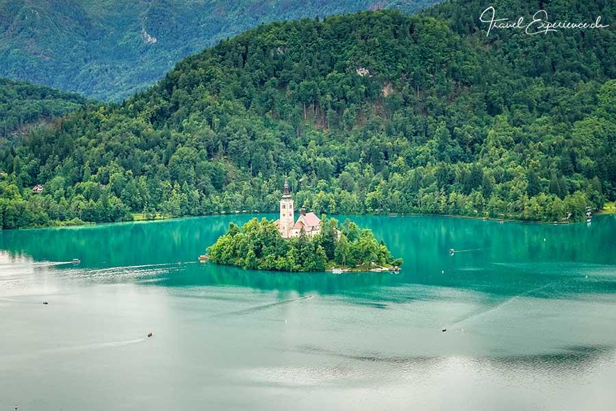 Slowenien, Bleder See, Insel