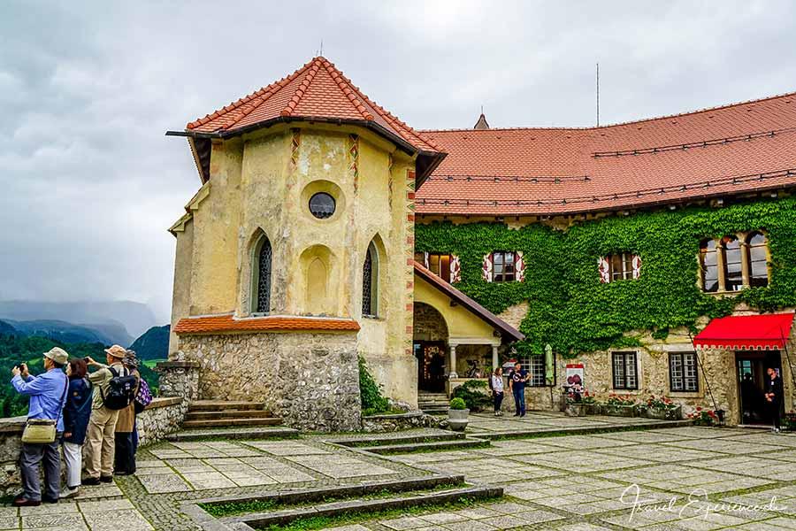 Slowenien, Bled, Burg