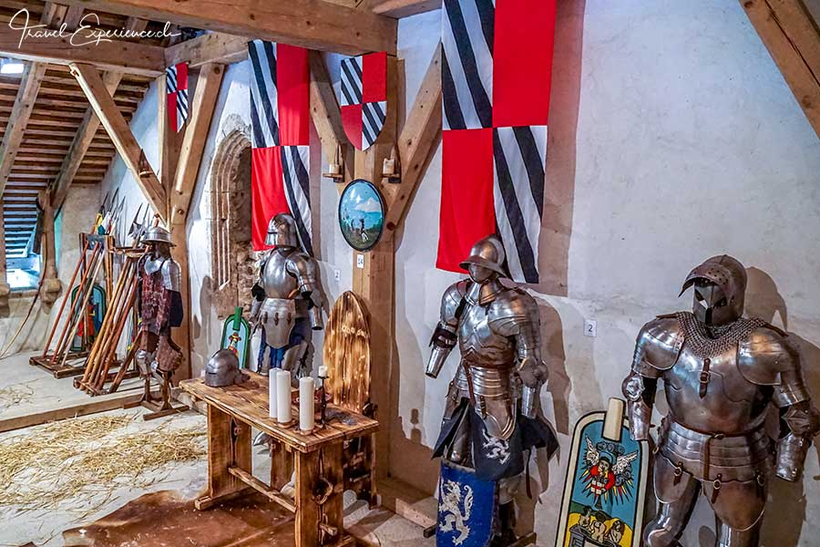 Slowenien, Predjama, Burg, Ritter